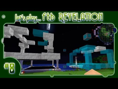 Let's Play... FTB Revelation! #8: Welcome to RF (Tools) - Base remodeling with the Builder!