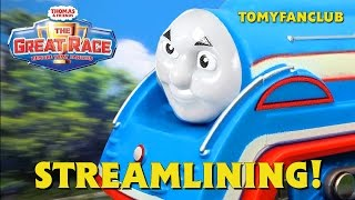 "The Great Race ""Streamlining"" Thomas & Friends Remake TOMY FANCLUB"