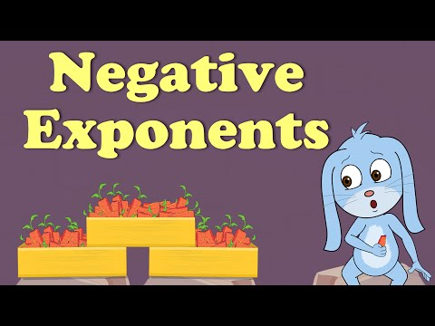 Exponents in Math - Negative Exponents