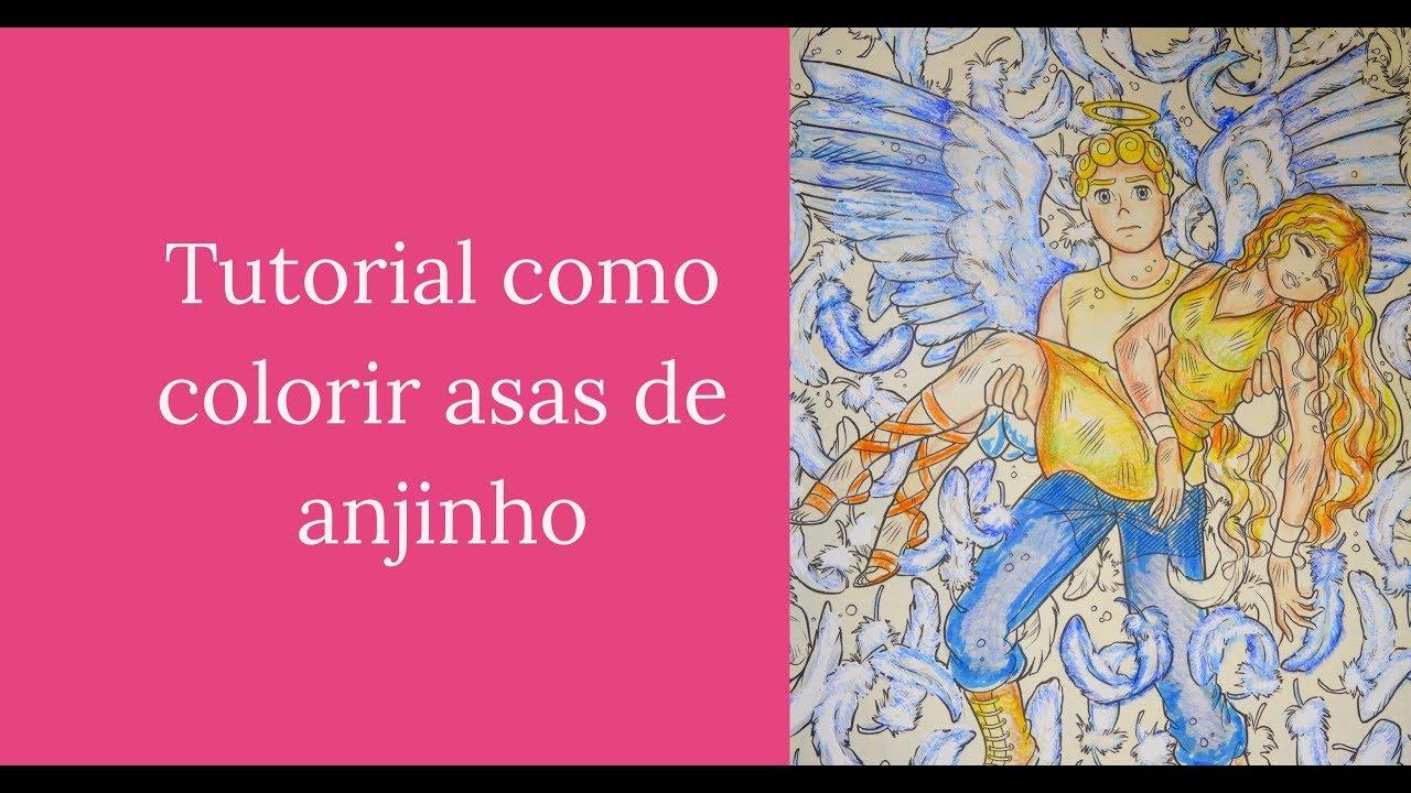 Como Colorir Asas De Anjinho Turma Da Mônica Jovem