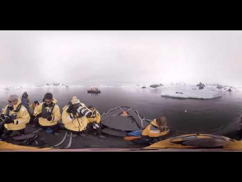 Marine Biologist Christian Geissler talks leopard seals in Antarctica (360° VR)