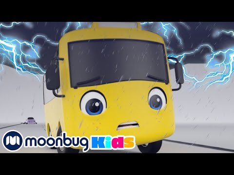 Go Buster is Frightening By The Storm  | Baby Cartoons | Kids Videos | ABCs and 123s