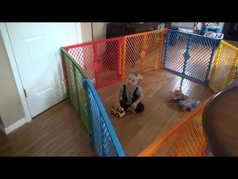 North States Superyard Play Yard - Demo & Review