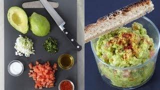 Technique de cuisine : Faire un guacamole