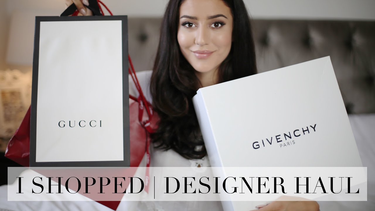 designer of givenchy jgit  Designer Haul  Gucci, Givenchy, Jimmy Choo  Tamara Kalinic