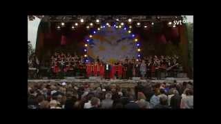 Du gamla, Du fria (Sveriges nationalsång - Nationaldagen 2014)