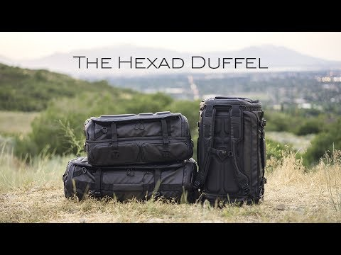 d0de5918a9 The HEXAD Duffel Bags – Kickstarter Official Video - YouTube