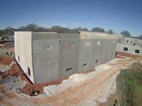 Sonnie Hereford Elementary School Construction Timelapse (August 2016)