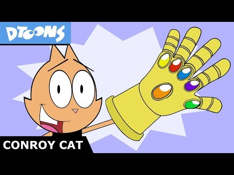 Infinity Gauntlet - Avengers Endgame   What Chu Got? #5   Conroy Cat Cartoons by Dtoons