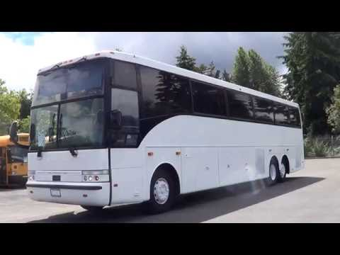 northwest bus sales 1998 vanhool 57 passenger motor coach touring rh youtube com Van Hool T2145 Van Hool Coaches