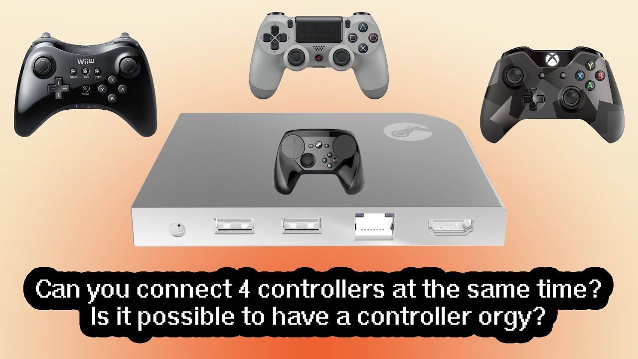 4 controllers, 1 Steam Link [Also, update on the Wii U Pro ...