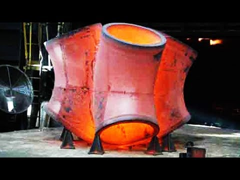 HYPNOTIC Video Heavy Manufactury Inside Chinese Forging Factory
