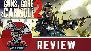 Guns Gore and Cannoli 2 Nintendo Switch Review - ONLINE SHOOTER CO-OP