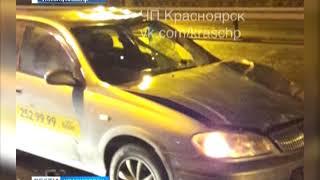На проспекте Металлургов под колёсами такси погиб пешеход