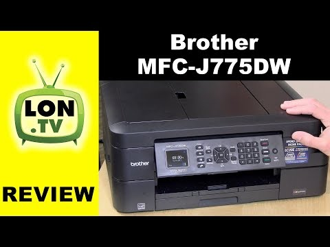Brother MFC-J775DW All In One Printer Review - Low Cost Multifunction / MFC