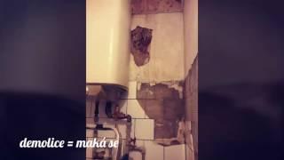 Sklad / demolice koupelny a oprava okapu
