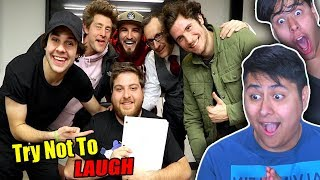Try Not To Laugh! David Dobrik Funny Moments