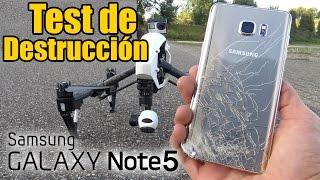 Samsung Galaxy Note 5 - Test de Destrucción!