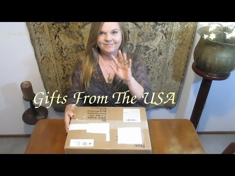 GIFTS FROM USA ** ASMR** PAPER SOUNDS & TRACING