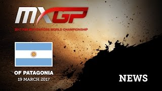 mxgp of patagonia argentina 2017 qualifying races highlights motocross