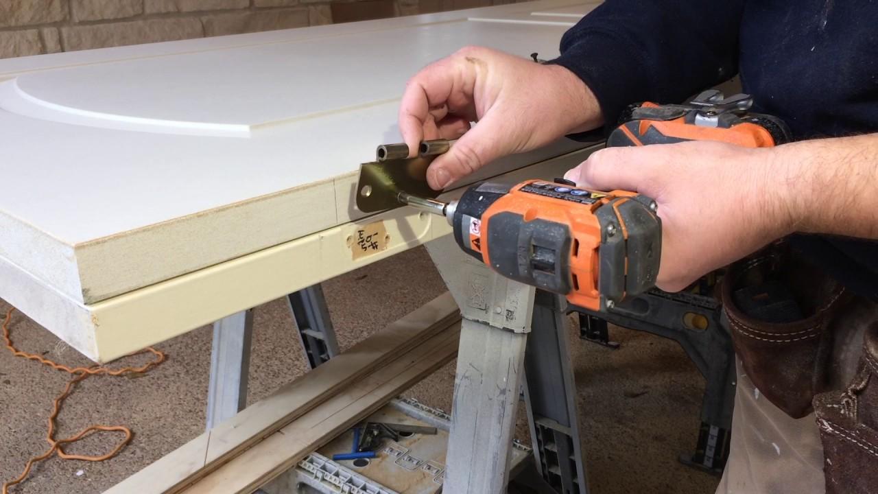 Replacing A Hollow Core Door With A Door Lock Installation