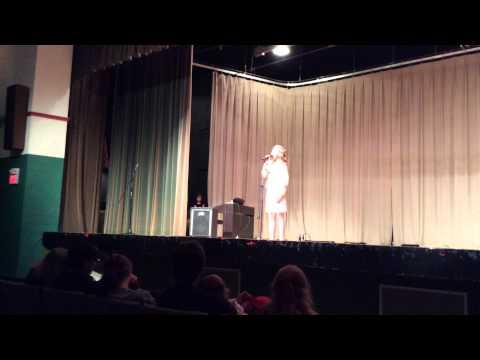 Abigail Bonham - Talent Show - 2015