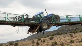 Tractors accidents and big Troubles