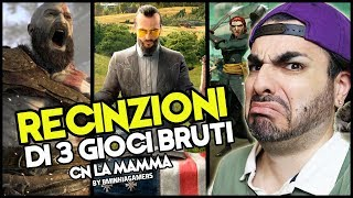 RECINZIONI BY BMINKIA GAMER: God of uor 4, Fancrì 5, Sea oTieves