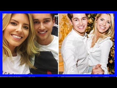 Mollie king and aj pritchard cuddle up as they reunite for strictly come dancing return