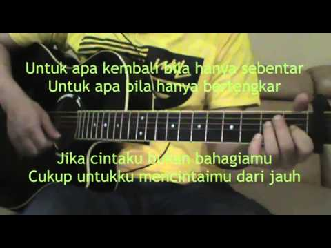 Cassandra - Cinta Dari Jauh (Akustik Gitar Karaoke)