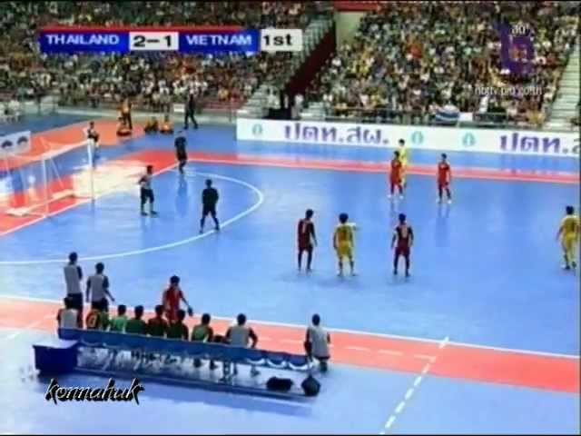 Thailand Vs Vietnam 9- 4 [ Final ] AFF Futsal Championship 2012