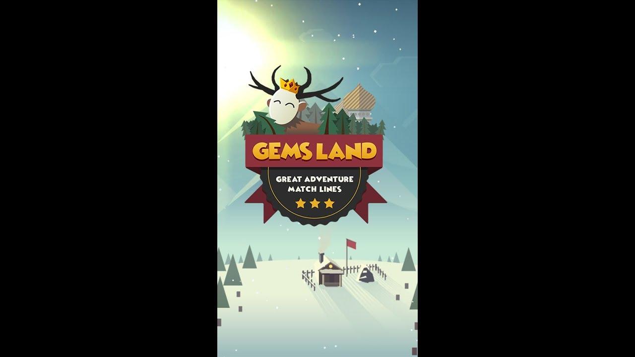 Gems Land: match 3 puzzle