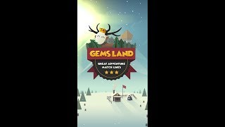 Gems Land-new free match 3 game, connect the dots!