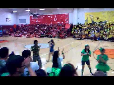 West Campus High school chant off 2015