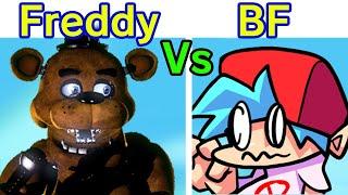 Friday Night Funkin VS Freddy Fazbear FULL WEEK Cutscenes Five Nights At FreddysFNF ModHard