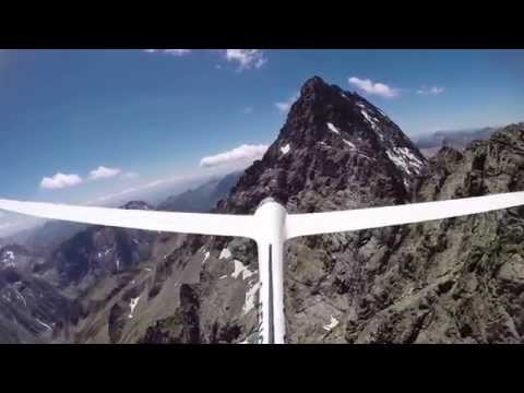 Crystal Skies - A glider flight into the Ecrins