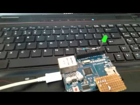 Prototype of the automatic reset for the arduino