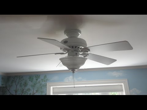 44 hunter stratford ii ceiling fan 2 of 2 youtube 44 hunter stratford ii ceiling fan 2 of 2 aloadofball Image collections