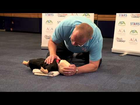 How to perform CPR on an infant
