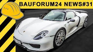 Porsche 918 Spyder - neuer Firmenwagen? feat. JP Performance | Bauforum24 News #31