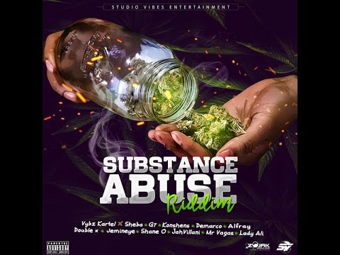 SUBSTANCE ABUSE RIDDIM MIX FT. KONSHENS, VYBZ KARTEL, DEMARCO & MORE {DJ CAPTAIN}