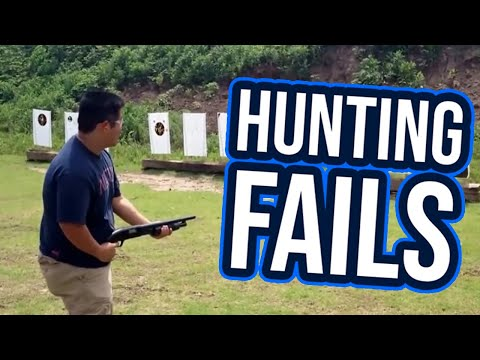Best Hunting Fails 2017   Funny Fail Compilation