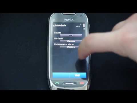 Nokia C7 Review - part 3 - Music Player, DivX Player, Radio - luinHD