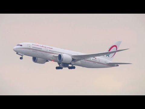 UNPOWERFUL TAKEOFF! Royal Air Maroc Boeing 787-8 Dreamliner [CN-RGC] Takeoff from New York JFK!