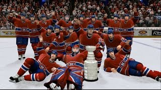 NHL 07 - Montreal Canadiens Win Stanley Cup