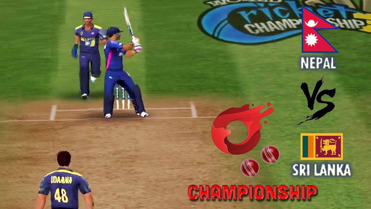 Nepal vs Sri Lanka - O2 Championship Season 2 - World cricket championship 3 WCC Tournament