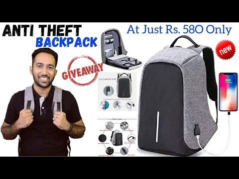 Fur Jaden Anti Theft Bag Unboxing, Review & Giveaway   Water Resistant Laptop Bag
