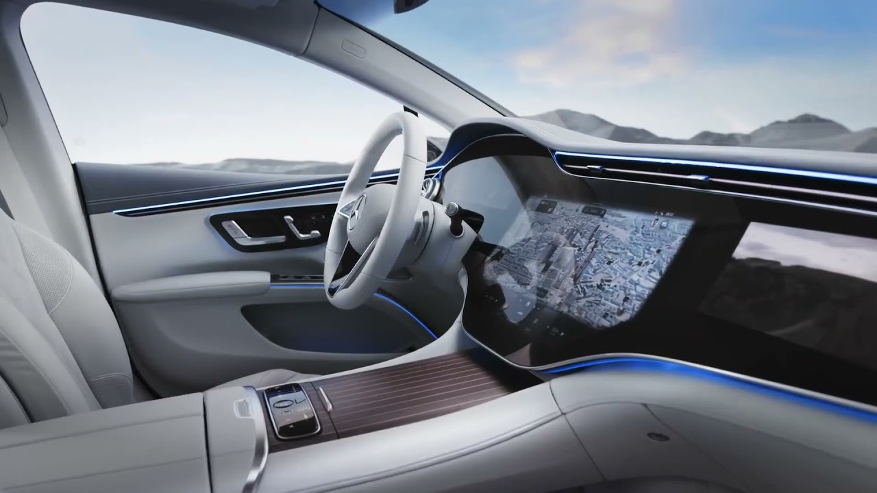 Does the 2022 EQS have GREATEST interior ever designed?