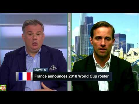 ESPN FC 18/5/18 Can Messi win the World Cup ? France, Arteta, Arsenal, Martial
