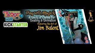 Tarot: Witch of the Black Rose a Deck of Cards for Dealing & Divination